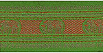 90mm Jacquard Ribbon (Sari Border)