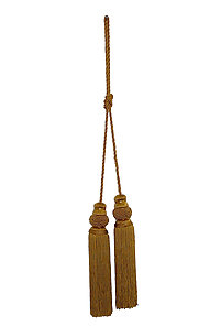 9 Tassels with 30 Rope Tieback
