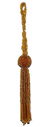 4 Tassel with 3 Long Loop
